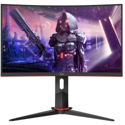 Monitor LED AOC Gaming C24G2U/BK Curbat 23.6 inch 1 ms Negru FreeSync Premium 165 Hz