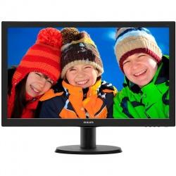 Monitor LED Philips 243V5LHSB/00 23.6 inch 1ms Black 60Hz