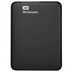 Hard Disk Drive WD Elements Portable , 1TB, USB 3.0, negru