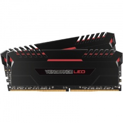 Memorie Corsair Vengeance Red LED 16GB DDR4 3000MHz CL15 Dual Channel Kit