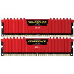 Memorie Corsair Vengeance LPX Red 16GB DDR4 3200MHz CL16 Dual Channel Kit