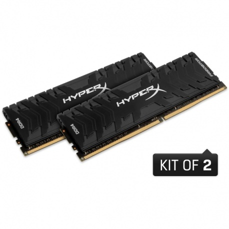 Memorie HyperX Predator Black 16GB DDR4 2666MHz CL13 1.35v Dual Channel Kit