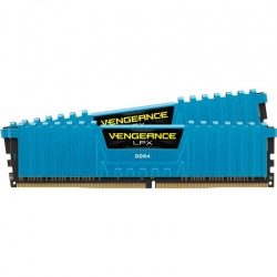 Memorie Corsair Vengeance LPX Blue 16GB DDR4 3000MHz CL15 Dual Channel Kit